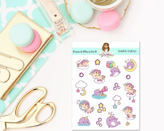 Bubble Babies Deco Sheet