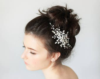 Bridal hair comb Bridal hair accessories Wedding hair comb Bridal Headpiece Bridal Hair Accessory Pearl Cristal hair comb Wedding jewelry