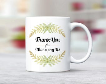 Gift For Wedding Officiant Idea Pastor Ideas Ordained Minister Thank You