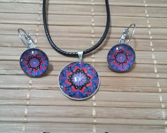Handcrafted fancy and pendant earrings