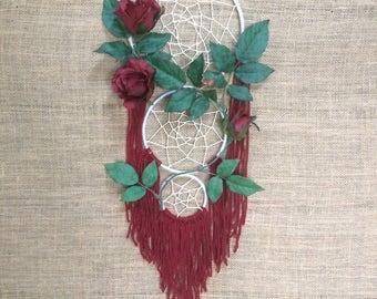 Rose Dream Catcher