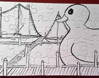 Color-Me Puzzle, Rubber Duckie
