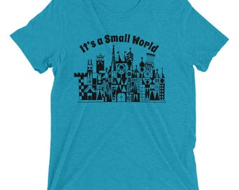 It's A Small World Tee - Crew Neck