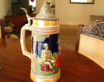 Gerz German Beer Stein I litre