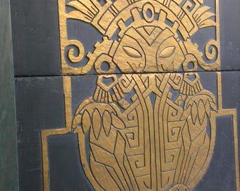 Pre-Columbian CTHULHU engraved on Slate