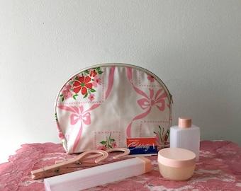 Vintage 1960's  Celebrity Cosmetic Bag