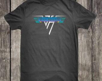 Van Halen T-Shirt Eddie Van Halen Tees Hard Rock Heavy Metal Van Halen T-Shirt Graphic Tee Men Women S-4XL T-Shirt