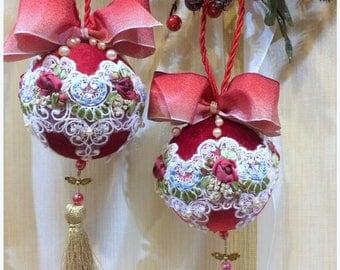 Christmas Balls Handmade
