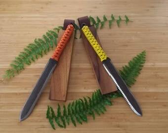 Hand Forged Hori Hori, Garden Knife, Soil Knife, Japanese, Blacksmith Made, Hand Forged, Handmade