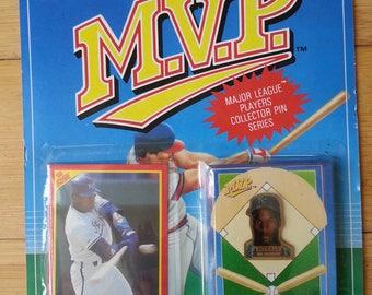 MVP Bo Jackson Collector's Card and Pin