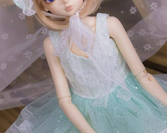 Sweetie Mint Shimmer Set | MSD, Slim MSD, Baby Mini | BJD Clothing