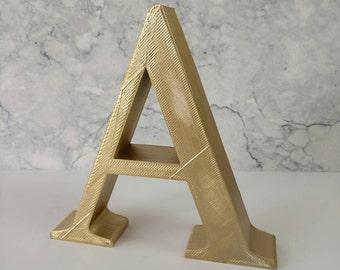 Personalised Free Standing Letters, Free Standing Letters, 3D Printed Custom, Initials Names For Birthdays/Anniversaries/Weddings