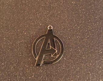 Avengers logo charm