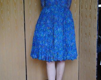 1960's chiffon dress