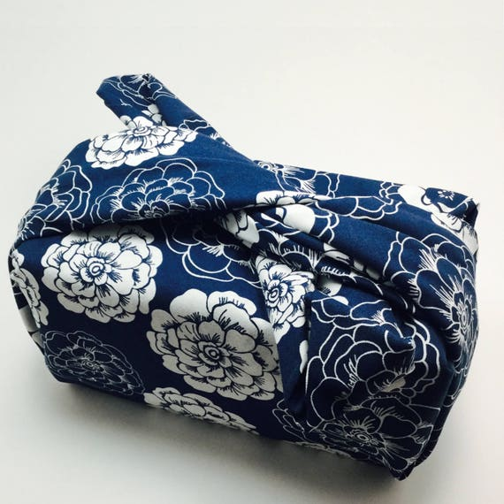 Furoshiki Gift Wrapping Cloth - Japanese eco-friendly wrapping textile -  Garden Design by Kendo Girl