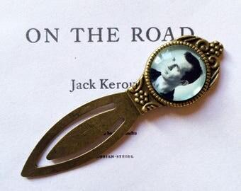 Jack Kerouac Bookmark - Jack Kerouac Gift, On The Road Bookmark, Beat Generation Gift, Beat Poet Bookmark, Vintage American Novelist Gift
