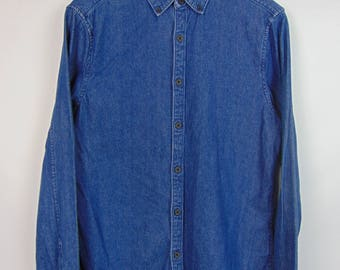 Vintage Dark Denim Shirt