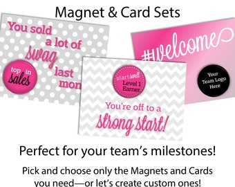 Team Recognition Gifts | Magnets | Direct Sales | Team Gift | Team Incentive