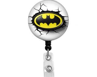 Batman - Badge Reel Retractable ID Badge Holder