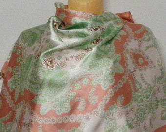 Rosa Parks vintage silk scarf Free shipping