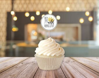 Printable Wild Rumpus Cupcake Toppers || Where The Wild Things Are Party Supplies || Wild One First Birthday, Baby Shower (DIGITAL PRODUCT)