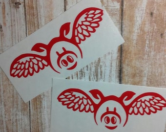 Flying Pig Decal/Pig Sticker/YETI Cup Decal/Pig Decal/ Hog Sticker/Farm Life Sticker/Pig Decal/Pot-Belly Pig/Pet Pig/Hog Decal/Pig