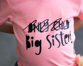 Promoted To Big Sister Etsy