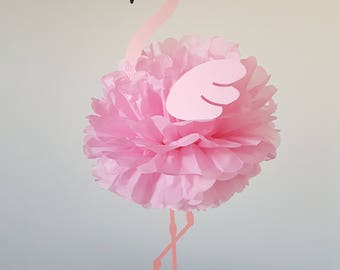 Flamingo party decoration for children's birthday party Luau/Pool party/Hawaiian/Summer theme/baby shower/christening/baptism/sweet 16