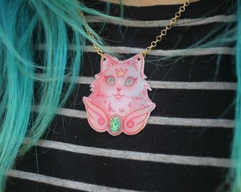 Magical Cat Necklace