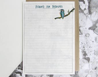 Fishing for Thoughts Notepaper