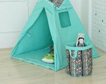 Laundry Hamper, Laundry Basket, Toy Storage, Nursery Fabric Basket, Storage Bin, Toy Basket, Nursery Storage, Round Nursery Basket, Storage