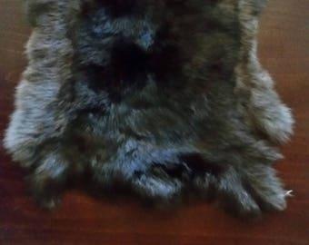 100% genuine rabbit fur