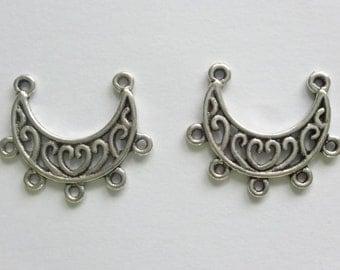20 Tibetan Silver 25x18mm Chandelier Earring Connectors Earring Findings