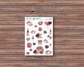 XOXO Deco Stickers | ECLP | Happy Planner | Recollections Planner
