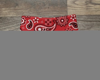 Bandana Bib   Cowboy   Paisley   Unisex   Bibdana   Teething   Baby   Drool Bib   Kenton Creations   Perfect Gift   Handmade in Canada