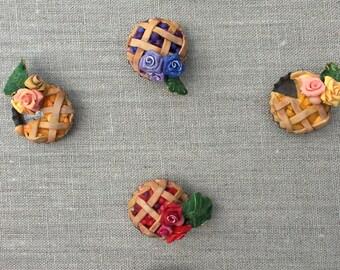 Polymer Pie Pins