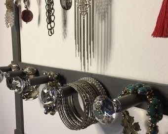 Bling Thing Jewelry Display & Organizer - Gray