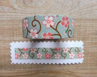 1.5 cm tape 10 m with flower design