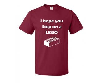 Step on a LEGO T-Shirt