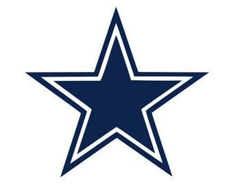 Dallas cowboys svg, football svg, svg, dxf, cricut, silhouette cut file