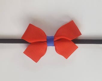 Red and Blue Bow Headband | Red Headband | Blue Headband | Baby Headband | Cute Headband