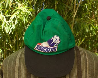Retro Snickers France 98 World Cup Cap  Size - Adults ONE SIZE