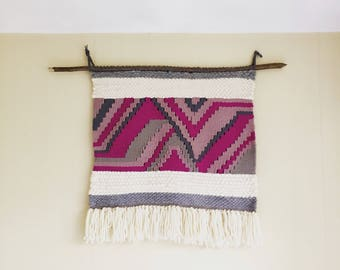 Extra Large Woven Wall Hanging || Fiber Art || Tapestry