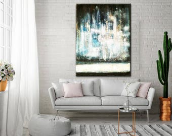 Large Canvas Art, Abstract Painting, Large Abstract Art, Abstract Canvas, Office Canvas Art, Abstract Canvas Art, Canvas Art Wall, Painting