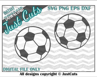 Soccer Ball SVG, soccer, soccer ball, sports svg, svg files, eps, png, dxf, soccer svg, ball svg, cutting files, cricut, silhouette