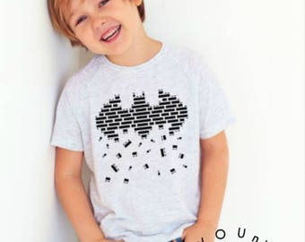 Cute Kid Shirt/ Batman Shirt/  funny shirt / Funny kid shirt / Cute Shirt/ Batman Shirt / Legoland vacation/ lego shirt