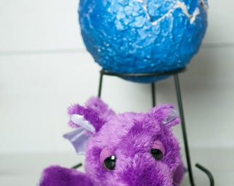 Medium Dragon Egg - Purple&Blue