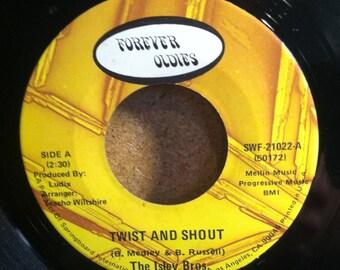 The Isley Bros. Twist And Shout b/w Wa Watusi Vinyl Rock 45 rpm Record