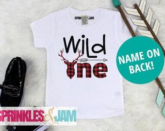 Wild One Shirt, Wild One Birthday, 1st Birthday Shirt Boy, Wild and One, First Birthday Shirt Boy, Boys First Birthday Outfit