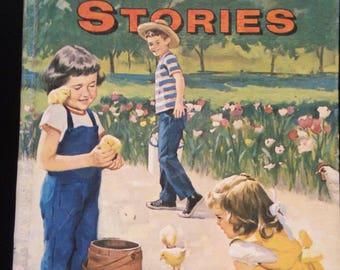 Uncle Arthur's Bedtime Stories 1964 Vol 4 - vintage childrens story book